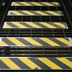 Lot de 5 plaques antidérapantes en aluminium