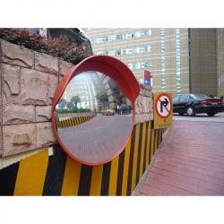 Miroir de sortie de parking avec visière  | Miroirs de sécurité