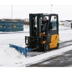 Lame chasse neige en acier - version éco - matériel de déneigement