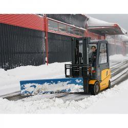 Lame chasse neige avec racloir en caoutchouc - matériel de déneigement