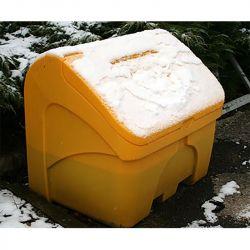 Bac à sel 400 litres | Coffre à sel en PE | Matériel de déneigement