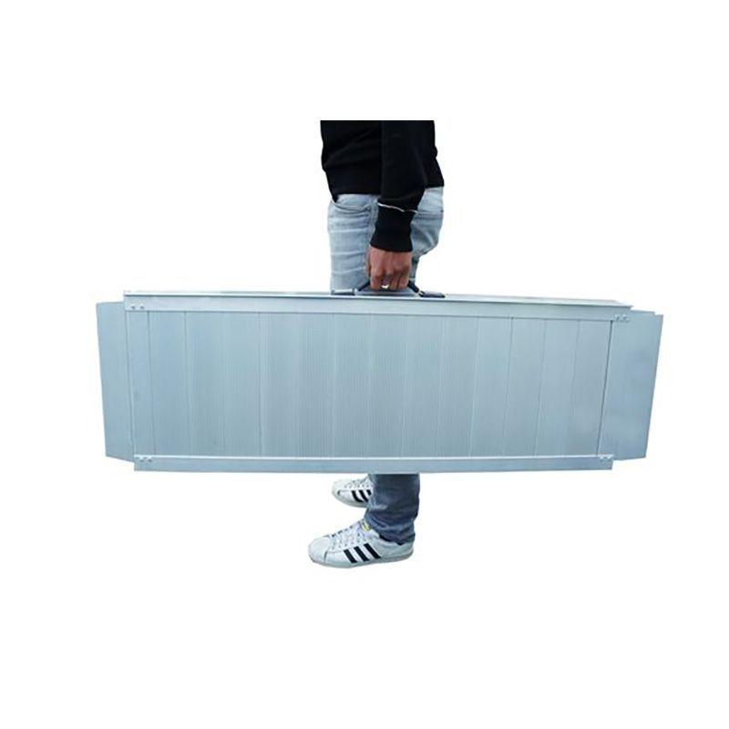 Rampe d'accès pliable et transportable en alu