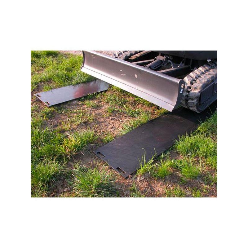 Plaque de roulage 10T - aques de roulage plastique incassable et plaques de protection des sols