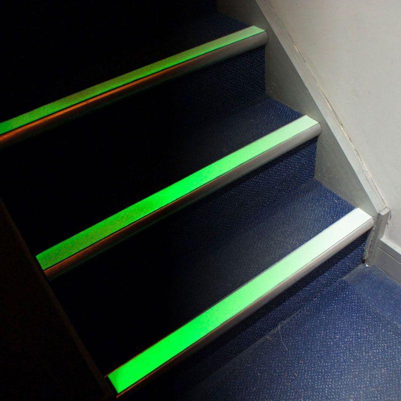 Bande antidérapante luminescente 6h - non abrasive