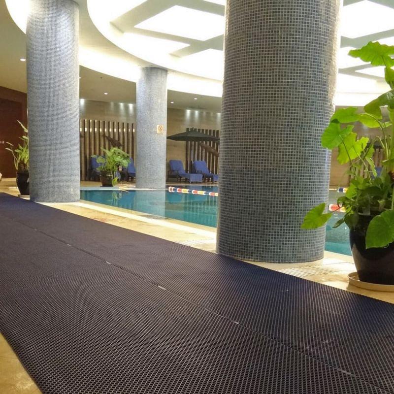 Caillebotis souple pour environnement humide - Revêtements | Dalles et tapis loisirs DIAMOND GRID