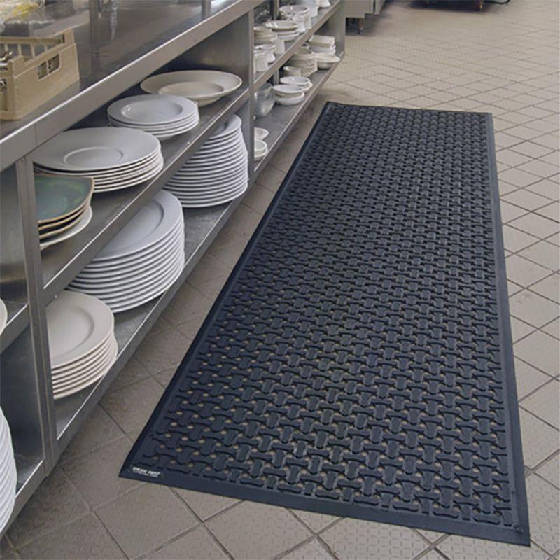 Tapis de cuisine antimicrobien