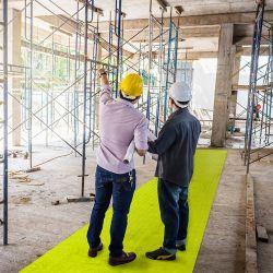 Revêtement pour voies de passage sur chantiers