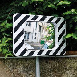 Miroir routier | Miroir d'agglomération en Polymir Garantie 3 ans