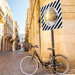 Miroir d'agglomération | Miroir routier en P.A.S. Garantie 5 ans