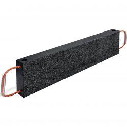 Bastaing de calage et cales d'atelier multifonctions, plaque de calage en plastique noir incassable et imputrescible