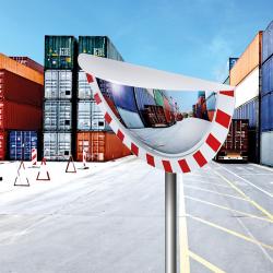 Miroir industriel de sécurité vision Grand Angle P.A.S.