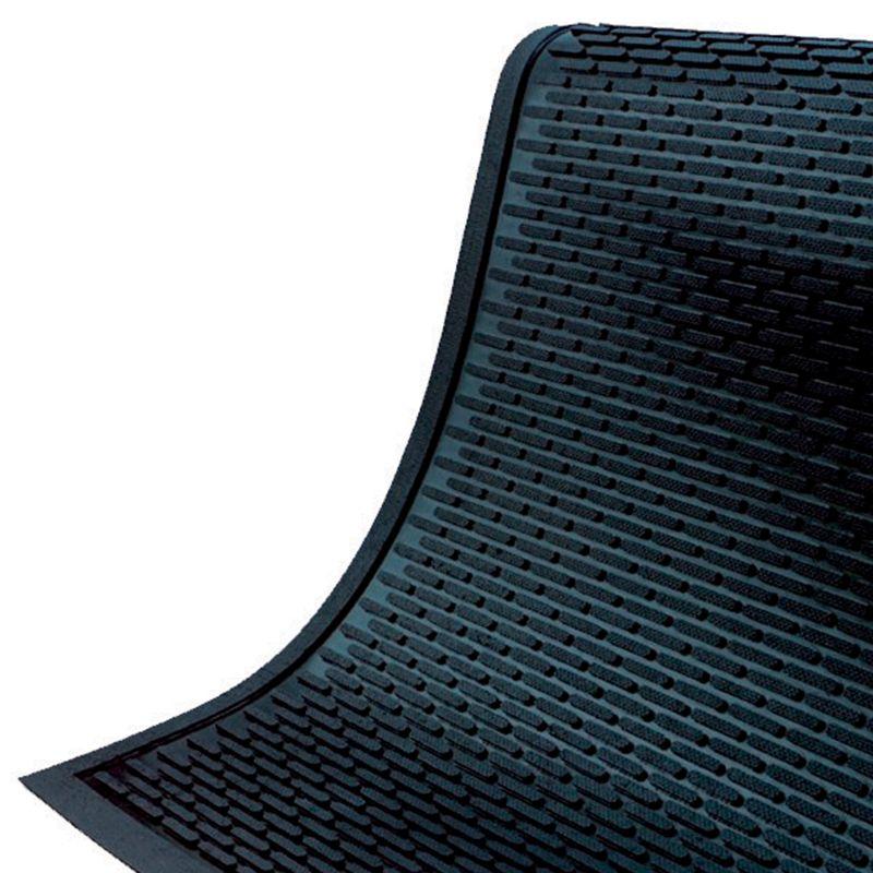 Tapis d'entrée antidérapant à surface texturée