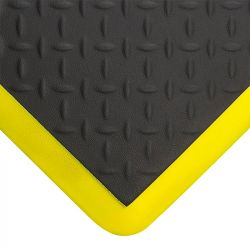 Tapis anti-fatigue industriel ergonomique