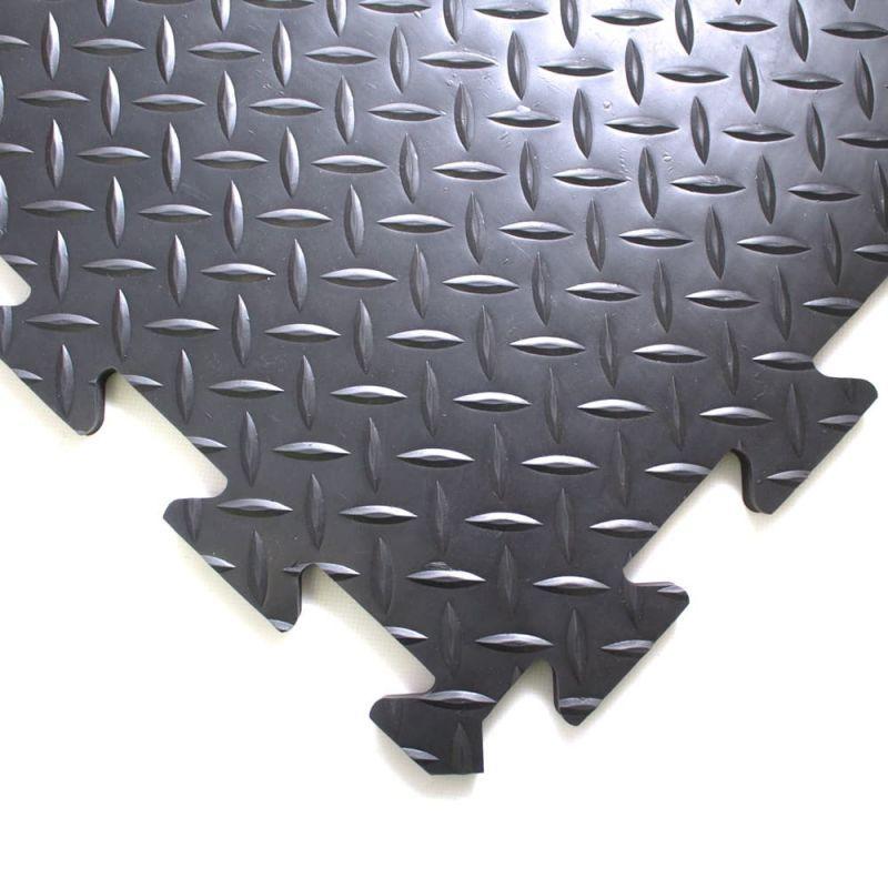 Dalle anti-fatigue premium surface en tôle diamant, DECKPLATE CONNEC