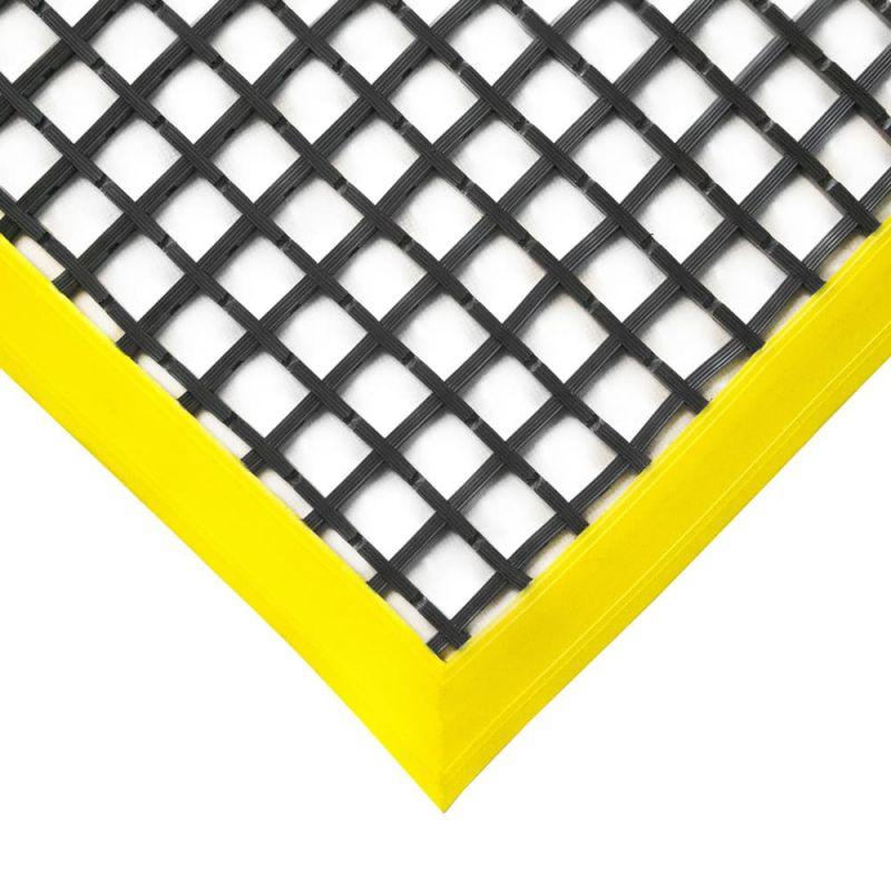 Caillebotis antidérapant à rebords biseautés - Caillebotis industriels WORKSTATION