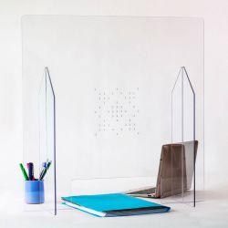 Hygiaphone Plexiglas pour guichets et comptoirs avec passe documents