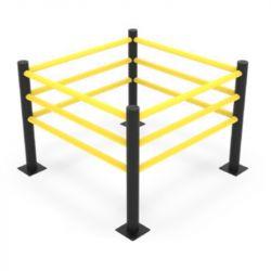 Barrière de sécurité flexible