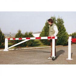 Barrière pour parking grande longueur