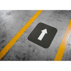 Flèche directionnelle de balisage adhésive