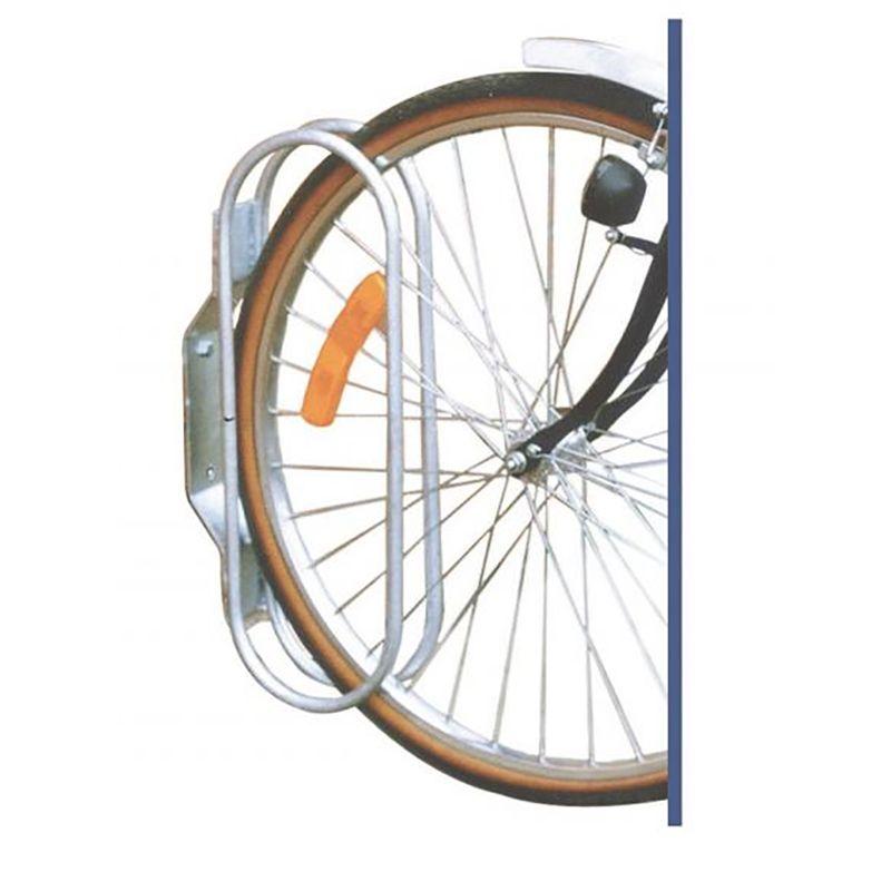 Attache vélo murale