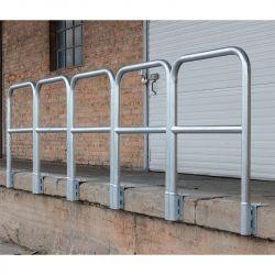 Garde-corps de rampe en acier galvanisé | Equipement de quai | Equipement de sécurité