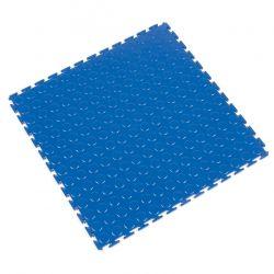 Dalle modulable antidérapante en PVC à surface pastillée - Revêtements  de sol antidérapants TOUGH-LOCK - Bleu