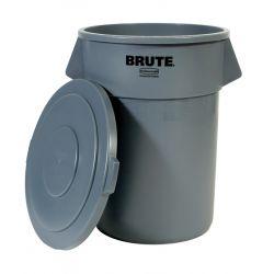 Collecteur Brute 208 L gris.