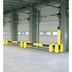 Barrière de quai relevable à mémoire de forme   Equipement de quai   Equipement de sécurité