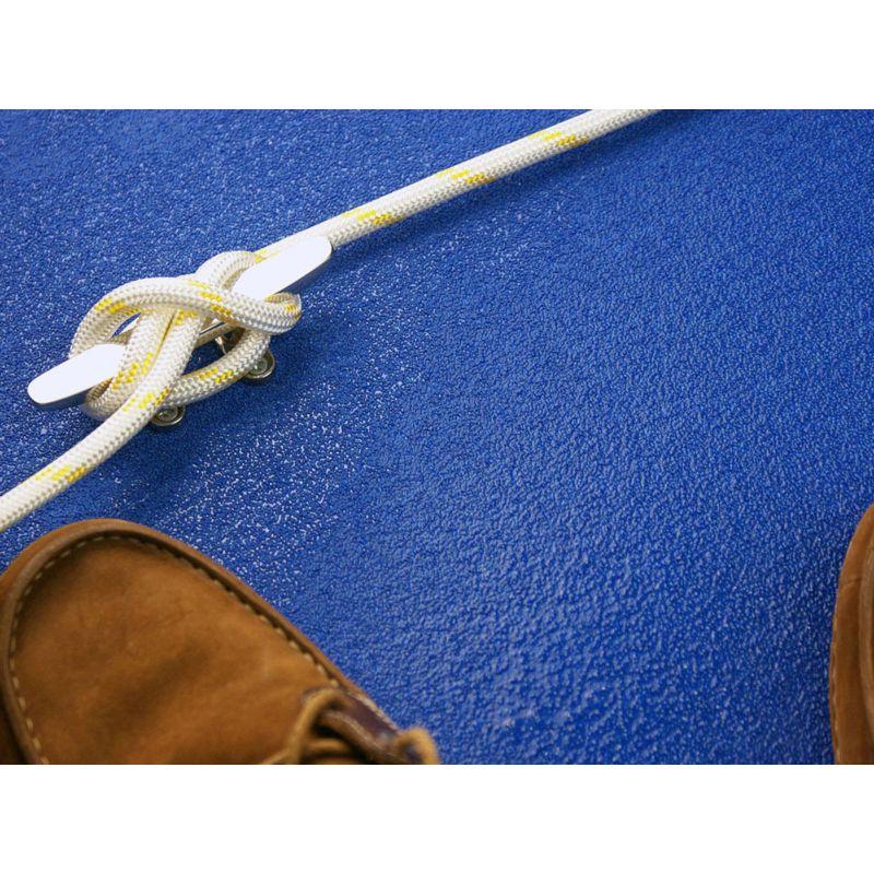 Bande antidérapante adhésive pour environnement marin et salin - Bleu