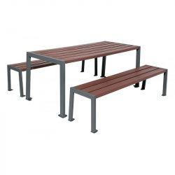 Table de pique-nique Silaos® Gris Procity