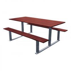Table de pique-nique Riga Gris Procity