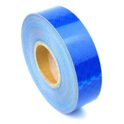 Bande réfléchissante microprismatique bleu