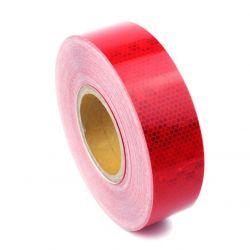 Bande réfléchissante microprismatique rouge