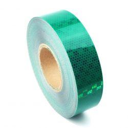 Bande réfléchissante microprismatique vert