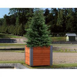 Bac à arbre Province City acier