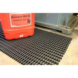 Caillebotis antidérapants en PVC - Maille 22x10mm dans notre gamme de Caillebotis industriels