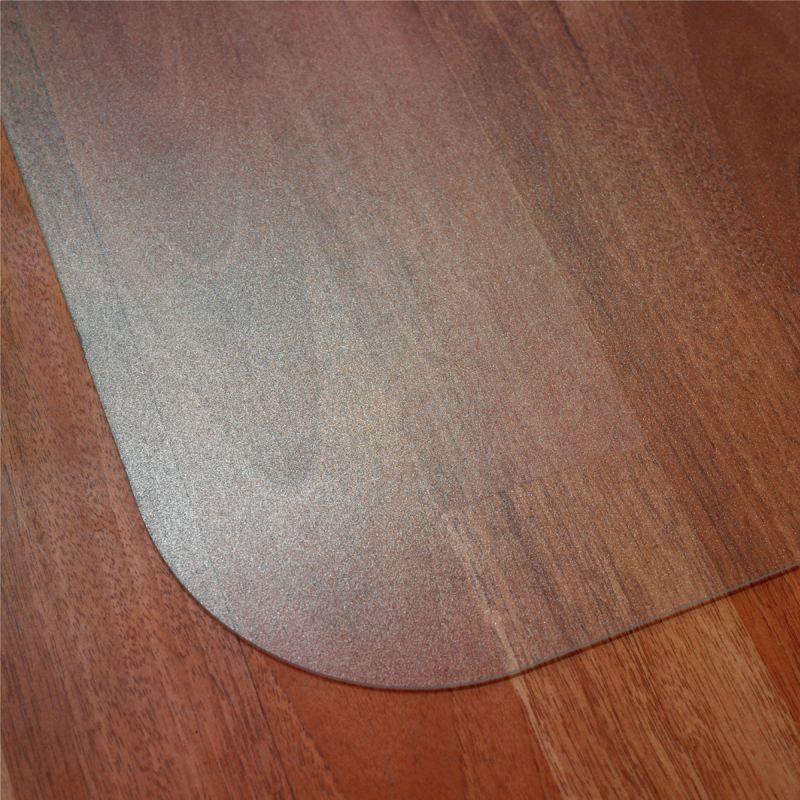 Tapis protège sol en polycarbonate transparent - Tapis de protection pour parquet et sol lisse
