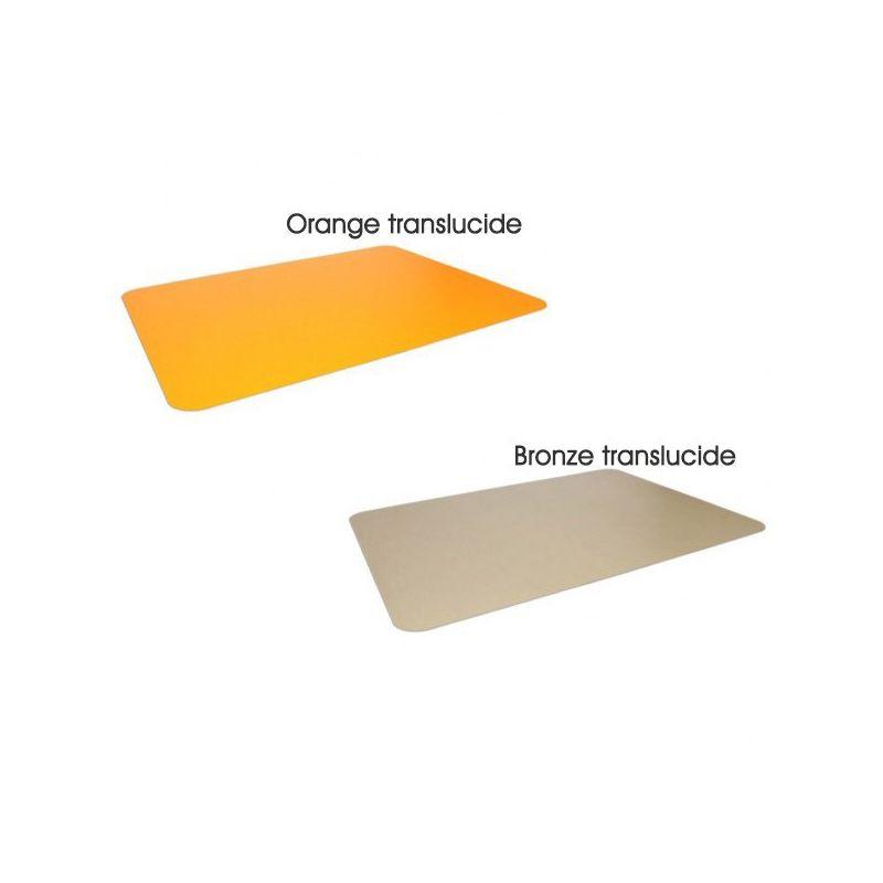 Tapis protège sol coloré en polycarbonate - tapis de protection des sols